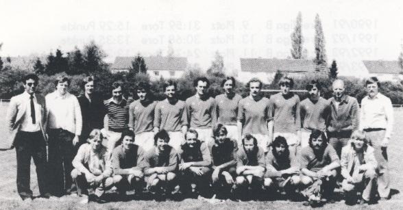2. Mannschaft 1979/80