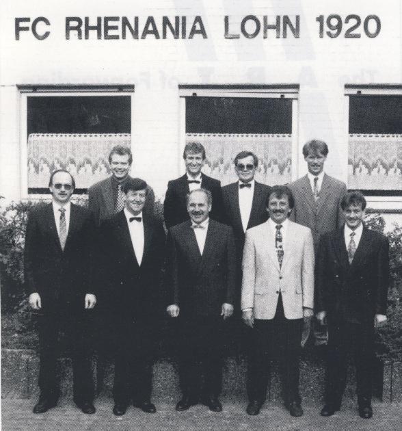 Der Vorstand im Jubiläumsjahr 1995